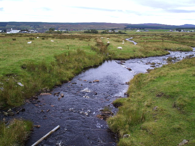 Dalchork and the Allt Chaiseagail Burn