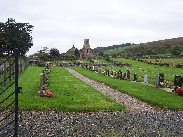 Cemetery at old St. Colmac Church