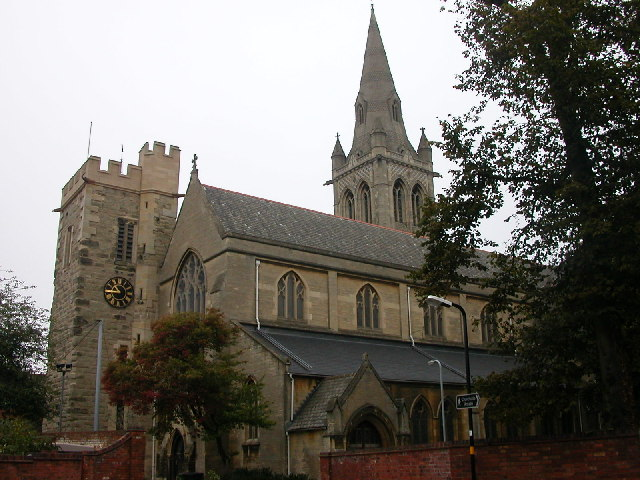 Rugby - St Andrew's Parish Church