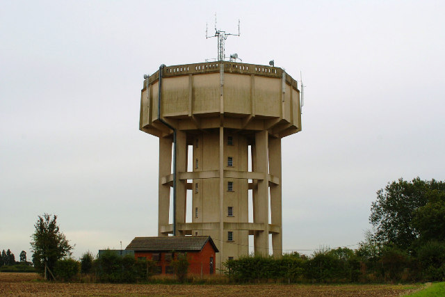 Water Tower at Stowlangtoft, Suffolk