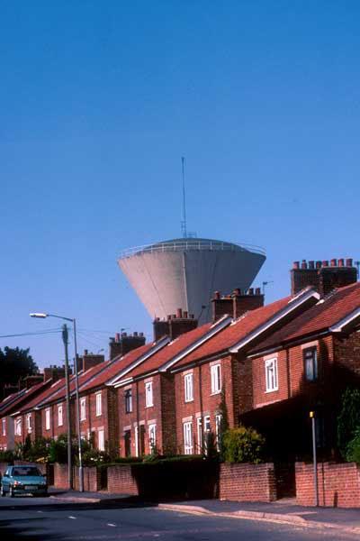 Water Tower at East Dereham, Norfolk