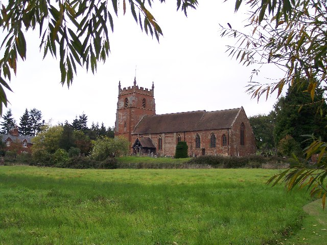 Martley Church from St Peter's Meadow