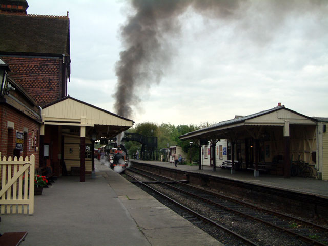 Sheffield Park Station on the Bluebell Line, BN8