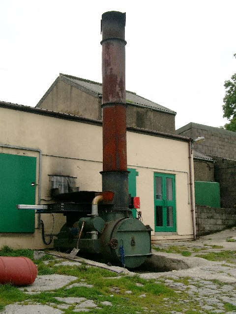 Incinerator at the abattoir