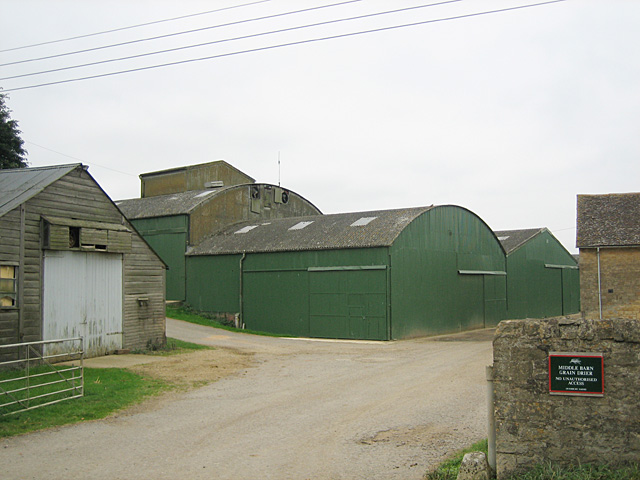 Middle Barn Grain Dryer