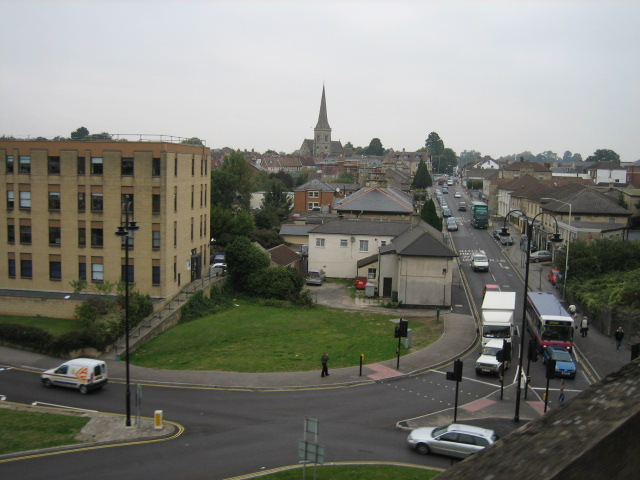 New Road leading to St. Paul's Church, Chippenham