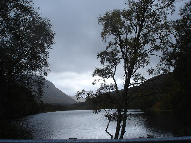 An Dubh Lochan near Fersit