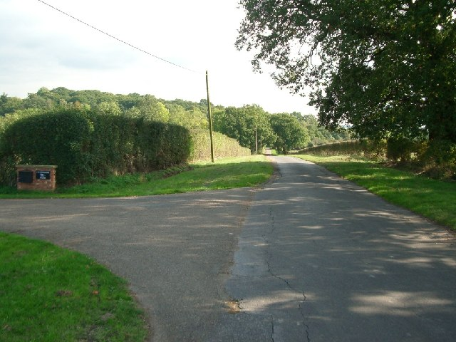 Bookham Road, at the entrance to Chasemore Farm