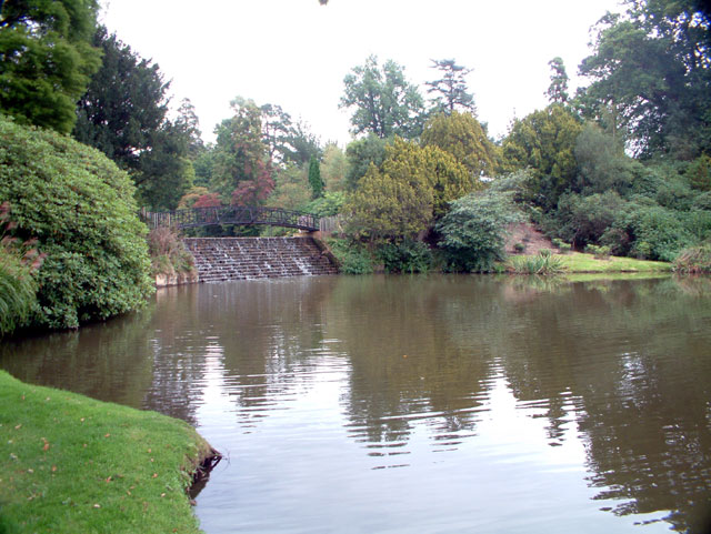 Sheffield Park Garden - weir TN22