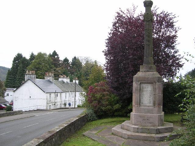 War Memorial, Blanefield