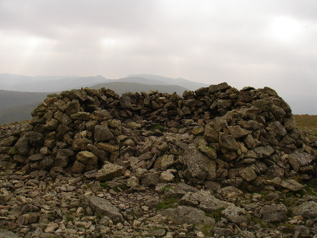 Great Dodd shelter cairn