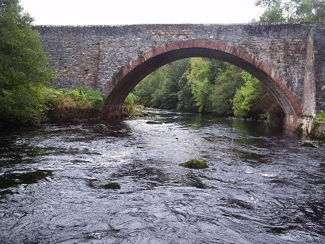 The Road Bridge that crosses the River Alness