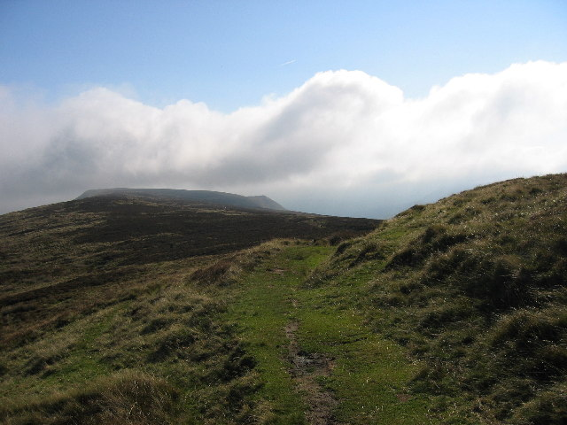 Between Hay Bluff and Black Hill