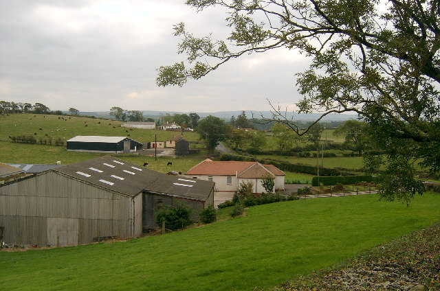 Farmland near Stair, Ayrshire