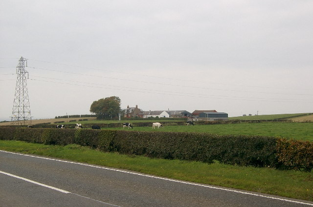 Farmland at Walston, near Ayr.