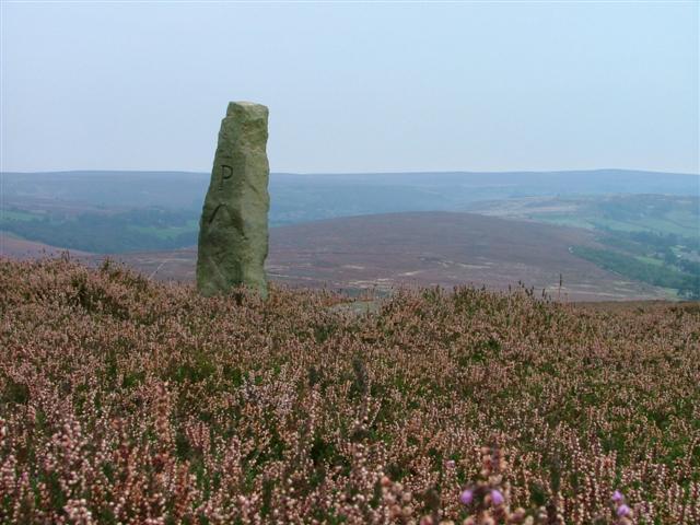 Stone Post, Little Hograh Moor