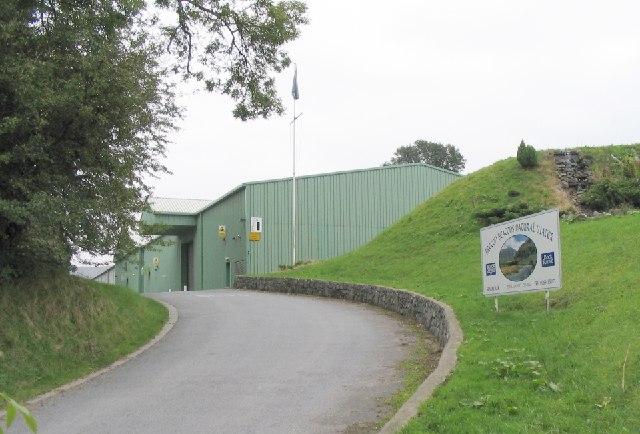 """Brecon Carreg"" water bottling plant"