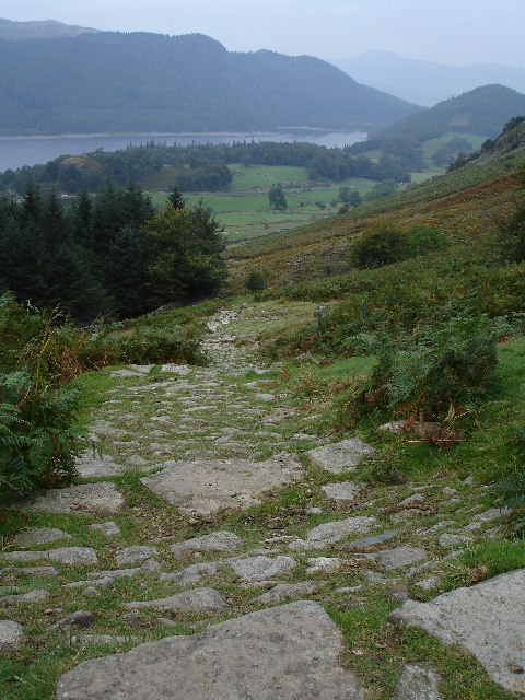 Path from Swirls to Helvellyn