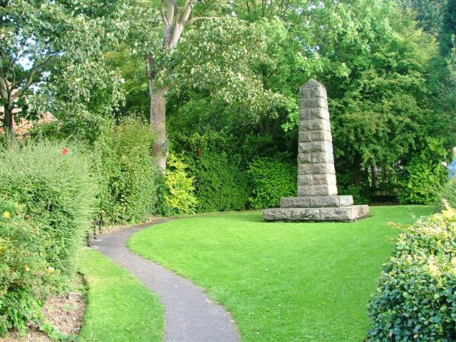 """""""Capt. Cook's Cottage"""" Obelisk"""