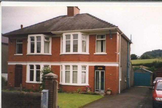 Semis in Ffrwdgrech Road, Brecon