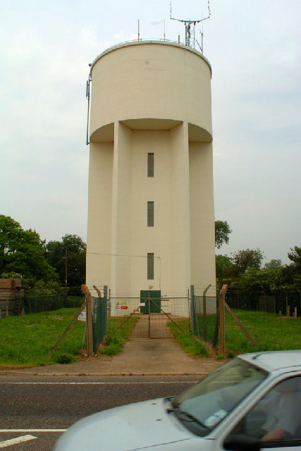 Water Tower at Rendlesham, Suffolk.