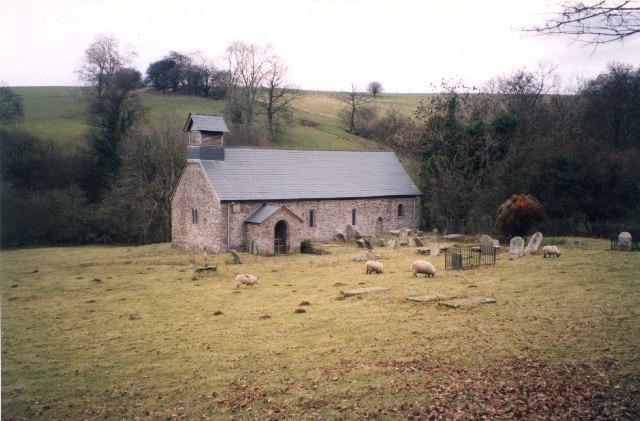 St Ellyw's Church Llanelieu