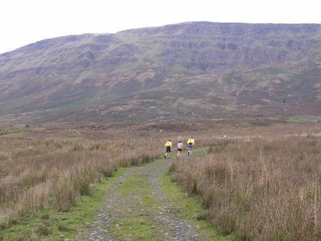Track leading to Slackdhu above Strathblane