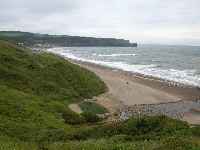 Sandsend Beach near to Whitby.