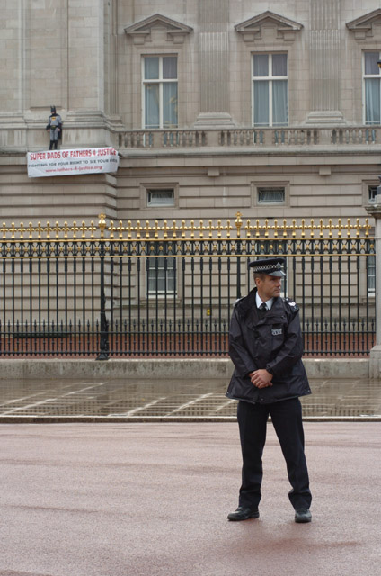 Protest at Buckingham Palace