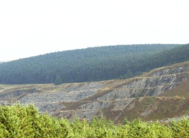 Quarry near Rosebush