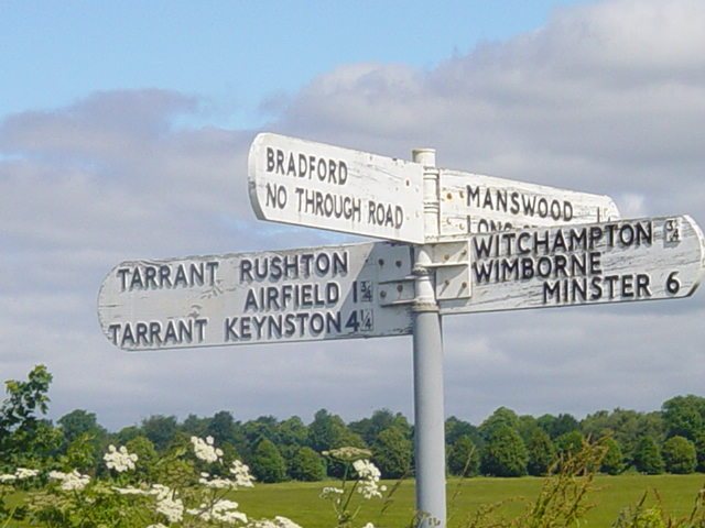 Sign Post to Witchampton