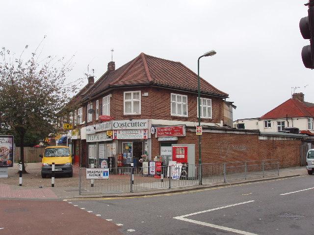 Shop on Neasden Lane