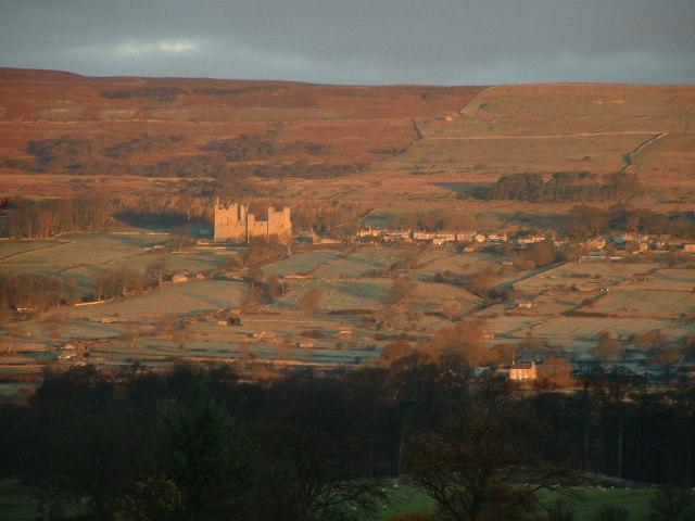 Castle Bolton near Redmire