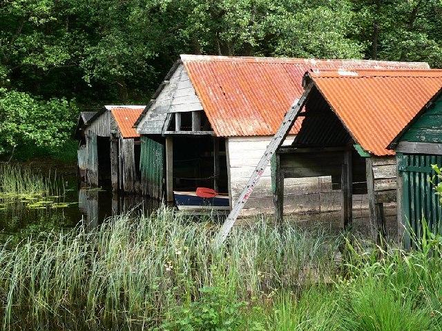 Boathouses, Loch Ard