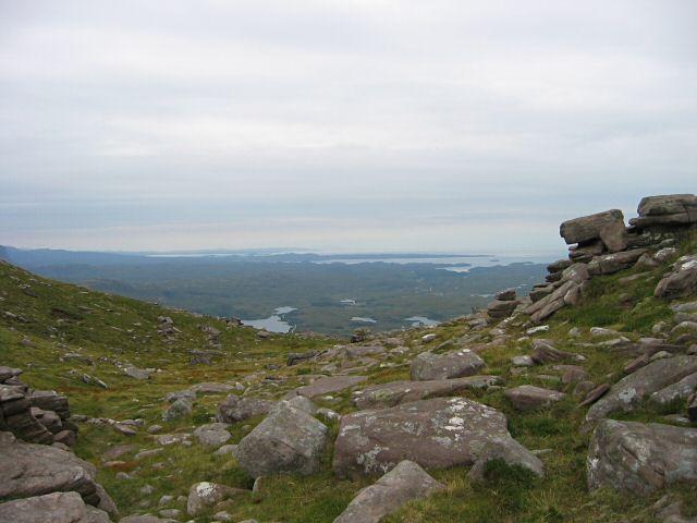 Bealach a' Chornaidh, Quinag
