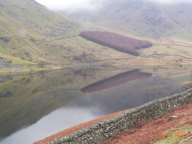 Top end of  Haweswater.