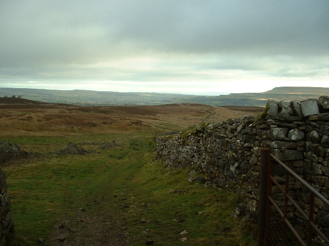 """The Gate"" checkpoint for the Wensleydale Wedge LDWA"