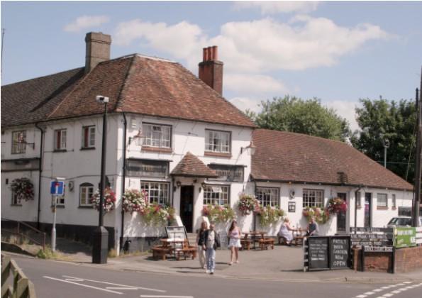 The Greyhound inn at Amesbury