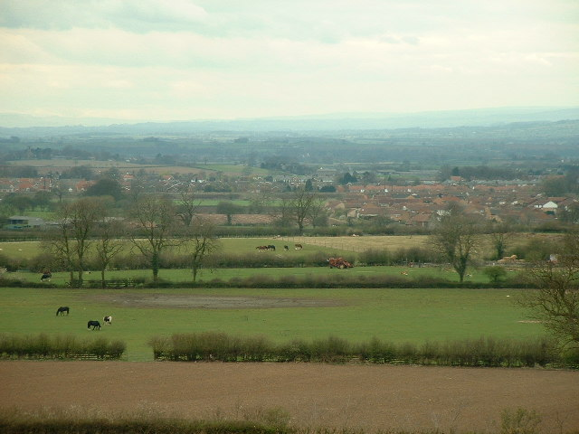 Looking across the Vale of Mowbray