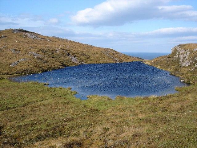 Unnamed Lochan below Meall a' Ghruagaich