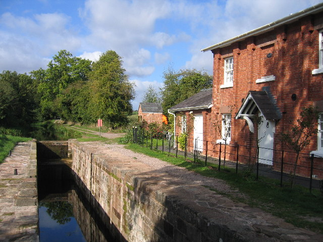 Hereford and Gloucester Canal, House Lock, Oxenhall