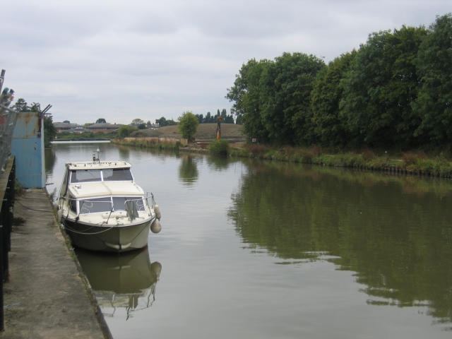 Gloucester and Sharpness Canal, Hempsted, Gloucester