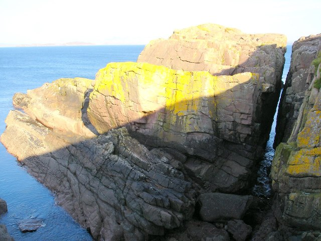 Sea stack off Rubha Mor