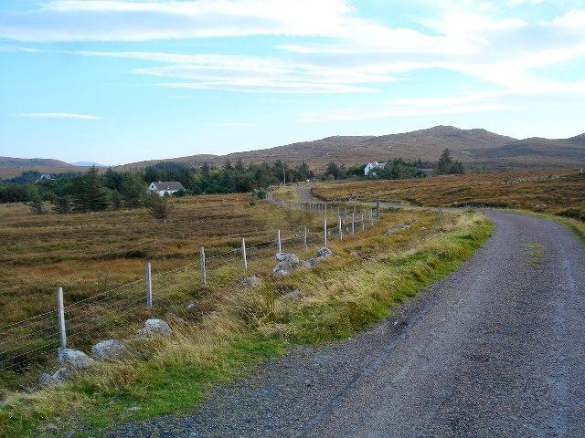 Road through Opinan