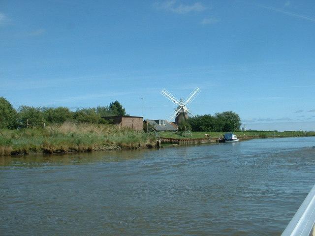 Mautby Marsh Drainage Mill