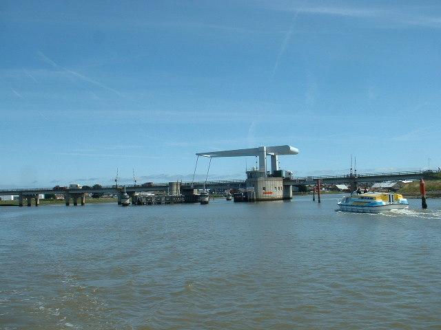Breydon Bridge, from Breydon Water