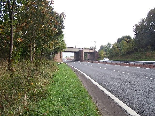 Railway Bridge near Langbank
