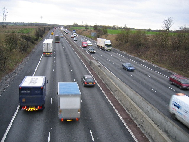 M25 looking south