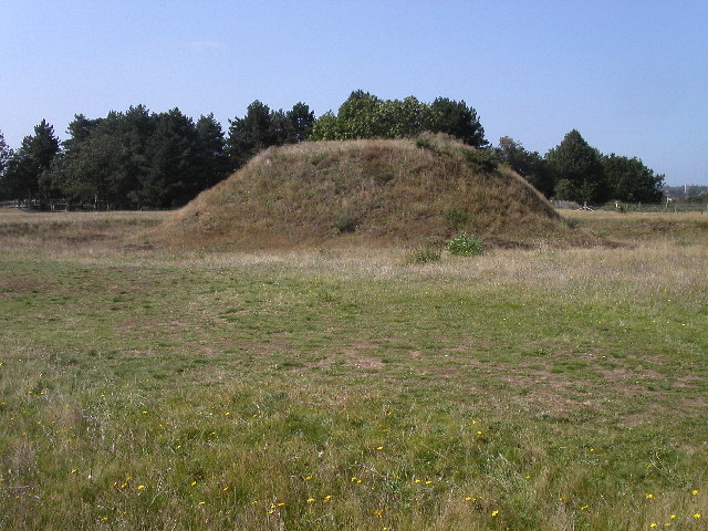 Tumuli at Sutton Hoo