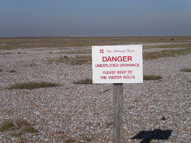 Shingle ridges at Orford Ness